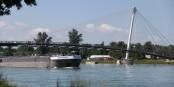 Ah, les ponts sur le Rhin... pourvu qu'ils faciliteront les histoires d'amour transfrontalières... Foto: Eurojournalist(e)