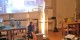 Wenn sich die Röhre dreht, entsteht aus einem kleinen Lagerfeuer ein Feuertornado. So macht Physik Spaß... Foto: Eurojournalist(e)