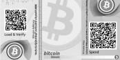 """So sieht eine """"virtuelle Bitcoin-Briftasche"""" aus - doch Bitcoins können sich auch schon mal in Luft auflösen. Foto: bitaddress.org / Wikimedia Commons / MIT"""