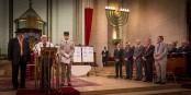 Sehr würdevoll, die Zeremonie zum Andenken an die Opfer von Paris. In Strassburg sucht man aktiv den Schulterschluss. Foto: Claude Truong-Ngoc / Eurojournalist(e)