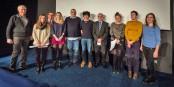 """Die Jury und die Preisträger des """"Preises der Jungen Kritiker"""" des Kinofestivals """"Augenblick"""". Foto: Claude Truong-Ngoc / Eurojournalist(e)"""
