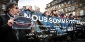 """Das ganze Elsass war auf den Beinen, um """"Nein"""" zu Fremdenhass und einer Spaltung der Nation zu sagen. Foto: Claude Truong-Ngoc / Eurojournalist(e)"""