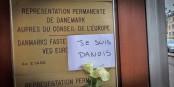 """""""Je suis Danois"""" - Ausdruck emotionaler Betroffenheit und großer Hilflosigkeit in Straßburg. Foto: Claude Truong-Ngoc / Eurojournalist(e)"""