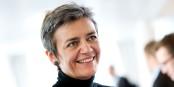 Est-ce que la commissaire à la concurrence, la Danoise Margarethe Vestager, aura le courage de mettre en cause son patron Jean-Claude Juncker ? Foto: Johannes Jansson / Wikimedia Commons / CC-BY 2.5dk