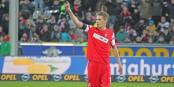 """Nils Petersen a marqué le premier """"hattrick"""" dans l'histoire du Sportclub Freiburg en Bundesliga. Foto: Eurojournalist(e)"""