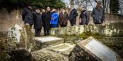 Das ist alles, was vom Mahnmal für die Opfer der Shoah in Sarre-Union übrig blieb. Foto: Claude Truong-Ngoc / Eurojournalist(e)
