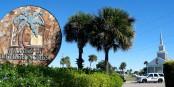 Sonne und Natur gibt es in Florida reichlich - aber auch Skurriles... Foto: Ludger Heutmann