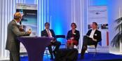 """Lors de la conférence """"IT2Rhine"""", les participants ont constaté que le commerce électronique transfrontalier présente un potentiel pas encore exploité. Foto: (c) ZEV"""