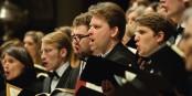 Bei der Johannespassion mit dem Freiburger Bachchor werden viele an den verstorbenen Hans Michael Beuerle denken. Foto: Valentin Knall / Freiburger Bachchor