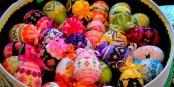 Dans certaines régions russes, on fabrique des œufs de Pâques qui sont de véritables œuvres d'art. Foto: Silar / Wikimedia Commons / CC-BY-SA 3.0