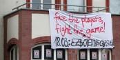 Déjà en amont de l'inauguration de la nouvelle BCE, des appels à manifester paraissait un peu partout en Allemagne.  Foto: Stefan Bellini / WIkimedia Commons / CC0