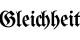 """Die """"Gleichheit"""" ist auch in der deutschen Kultur ein Wert, der ebenso wichtig erscheint wie in Frankreich. Foto: Inconnu / Wikimedia Commons"""