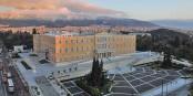 Das griechische Parlament erlebt gerade schwere, schwere Zeiten. Foto: Gerard McGovern / Wikimedia Commons / CC-BY 2.0