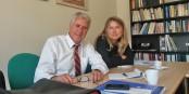 """Coup dur pour le """"Parti Fédéraliste Européen"""" - Gérard Bouquet et Norma Serpin viennent de quitter la """"Section Grand Est"""" du parti. Foto: Eurojournalist(e)"""