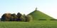 """La """"Butte du Lion"""" marque le champs de bataille à Waterloo. Mais pas une pièce de 2 euros belge... Foto: Jean-Pol Grandmont / Wikimedia Commons / CC-BY 3.0"""