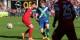 L'homme du match, le Belge Kevin de Bruyne, était impliqué dans les trois buts de Wolfsburg. Foto: Eurojournalist(e)