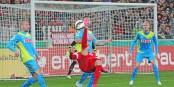 Dani Schahin livrait mardi soir certainement son meilleur match sous les couleurs du Sportclub Freiburg. Foto: KL / Eurojournalist(e)
