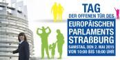 Am Samstag können Sie das Europäische Parlament in Straßburg von innen entdecken. Und mitdiskutieren. Foto: www.europarl.europa.eu 2015