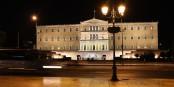 Est-ce que les lumières devant le parlement grec risquent de s'éteindre ? Foto: Root66 / Wikimedia Commons / CC-BY-SA 3.0
