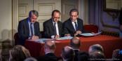 Der französische Präsident Hollande hab in Straßburg ein deutliches Statement für die Europahauptstadt ab. Foto: Claude Truong-Ngoc / Eurojournalist(e)