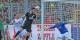 Malli marque le 1-3 en faveur de Mayence, pliant ainsi le match. Dommage... Foto: Eurojournalist(e)