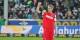 So wollen die Freiburger Fans ihren Torjäger Nils Petersen auch am Samstag jubeln sehen... Foto: Eurojournalist(e)