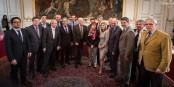 Photo de famille des maires de grandes villes et de présidents des agglomérations de la nouvelle région ALCA. Foto: Claude Truong-Ngoc / Eurojournalist(e)