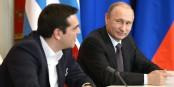 Vladimir Putin hat gut lachen - die Borniertheit der EU treibt ihm Griechenland in die Arme. Foto: www.kremlin.ru /Wikimedia Commons / CC-BY-SA 3.0