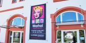 Bis zum 13. September kann man in Riegel im Kaiserstuhl die sensationelle Warhol-Ausstellung besuchen - es lohnt sich! Foto: Eurojournalist(e)
