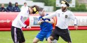 Bei den beiden Länderspielen zwischen Frankreich und Deutschland ging es auf dem Platz hoch her. Foto: Ligue d'Alsace - LAFA
