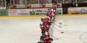 Vor dem Spiel wusste man nicht genau, wie die Wölfe die Niederlage in Duisburg weggesteckt hatten. Einfache Antwort: gut. Foto: Danner EHC Group