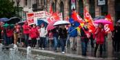 Le 1er Mai, le mouvement syndical a du se rendre compte que la mobilisation baisse. Foto: Claude Truong-Ngoc / Eurojournalist(e)