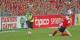 Nils Petersen marque le 2-1 à la 89e minute contre le Bayern - et relance le SC Freiburg dans la course au maintien. Foto: Eurojournalist(e)