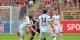 Après un match intense, les Fribourgeois se retrouvent une nouvelle fois les mains vides. Foto: Eurojournalist(e)