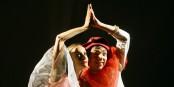 Marcelline und Marcello zeigen in Gutach, dass Liebe aus untalentierten Clowns große Künstler machen kann... Foto: Tilmann Krieg / BAAL novo