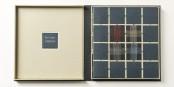 Buchkunst: Ein wunderschöner Einband eines Gedichtbands von Paul Celan, hergestellt von Susanne Natterer. Foto: (c) Susanne Natterer, Buchbinderin Freiburg