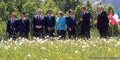 Que la Bavière est belle ! Que les G7 sont loin des réalités de ce monde ! Foto: (c) Présidence de la République / C. Alix