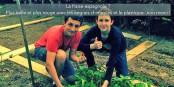 Théo und Thibault beziehen Verbraucherschutz auf regionale Lebensmittel - Recht haben sie! Und gewonnen haben sie damit auch... Foto: (c) ZEV