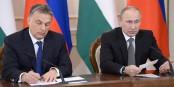 Deux qui s'entendent à merveille - Victor Orbán et Vladimir Poutine. Foto: www.kremlin.ru / Wikimedia Commons / CC-BY-SA 3.0