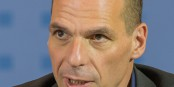On ne dirait pas comme ça, mais Varoufakis est allé assez loin dans les compromis avec l'UE. Foto: Jörg Rüger / Wikimedia Commons / CC-BY-SA 3.0