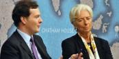 Der britische Finanziminister George Osborne (l.) will überall mitreden - nur bei Europa mitmachen will er nicht. Foto: Chatham House / Wikimedia Commons / CC-BY 2.0