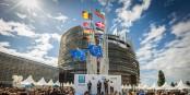 La bataille pour le siège du Parlement Européen à Strasbourg et loin d'être gagnée. Et maintenant, la bataille pour le siège du parlement de l'Eurozone ? Foto: Claude Truong-Ngoc / Eurojournalist(e)