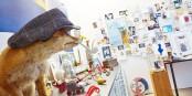 Bei Peter Gaymann steckt die Kunst im Detail, und der Shop ist vielleicht gar kein Shop. Foto: Axel Killian