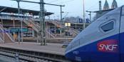 Der TGV ist auch auf deutschen Bahnhöfen (wie hier in Freiburg) heimisch geworden. jetzt soll diese deutsch-französische Kooperation weiter ausgebaut werden. Foto: Eurojournalist(e)