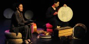 "Lors du festival ""Tamburi Mundi"", les musiciens surmontent les clivages politiques. Excellent ! Foto: Ellen Schmauss / www.tamburimundi.com"