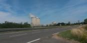 Kaum erreicht man, vom Oberrhein kommend, die Loire, erwartet einen das AKW Belleville. Hm. Foto: Eurojournalist(e)