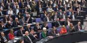 """Les députés de la CDU ayant voté contre les """"aides"""" pour la Grèce, doivent faire face à des sanctions. Foto: Tobias Koch / Wikipedia Bundestagsprojekt / Wikimedia Commons / CC-BY-SA 3.0de"""