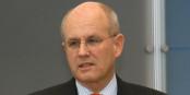 """Le chef du groupe parlementaire de la CDU, Volker Kauder, veut """"punir"""" les élus ayant voté contre la politique d'Angela Merkel. Foto: Frank Bergmann / Wikimedia Commons / PD"""
