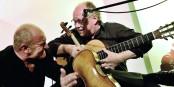Wenn Burr & Klaiber auf der Bühne stehen, gibt es tolle Musik und echten Witz - ein Konzert, das sich lohnt! Foto: Stadt Kehl / Michael Arnold