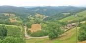 """Der Blick von der Terrasse des """"Gerstenhalm-Stübles"""" lohnt alleine schon den Ausflug aufs """"Geiersnest"""". Foto: Eurojournalist(e)"""